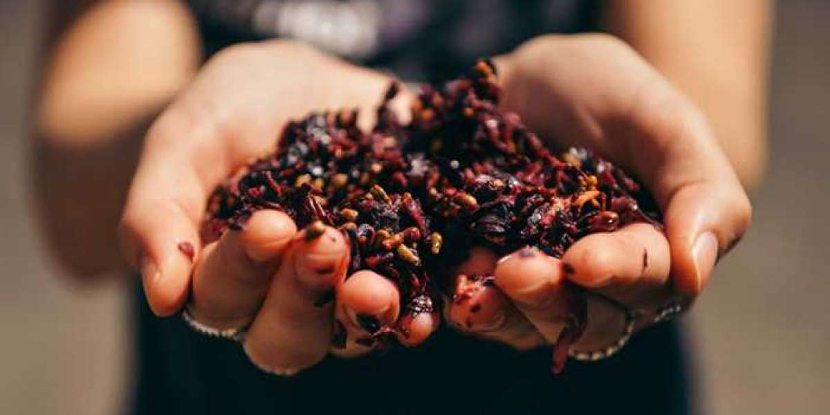 Cosméticos a base de uvas e vinhos tintos