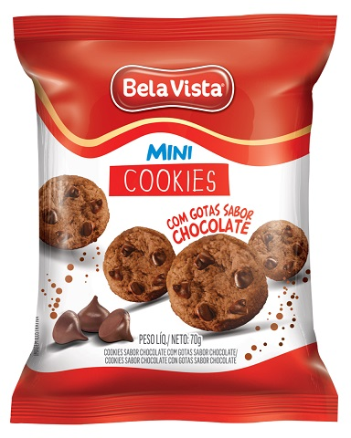 Bela vista lança mini cookies