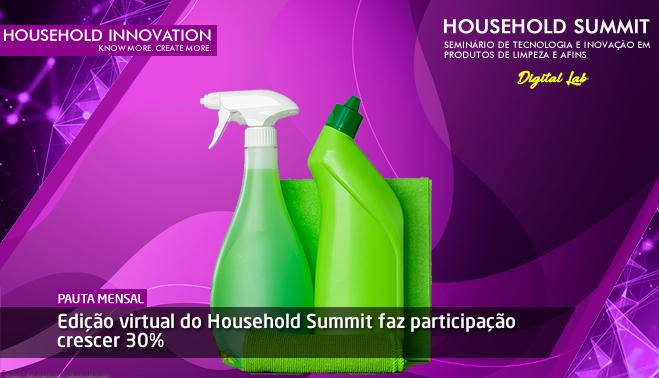 Edição virtual do Household Summit faz participação crescer 30%
