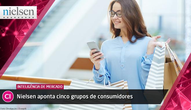 Nielsen aponta cinco grupos de consumidores